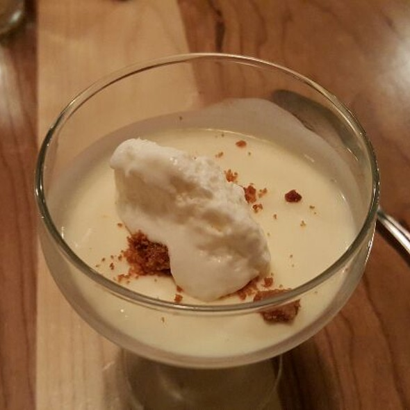 Lemon Posset With Sugar Cookie Crumbles And Chantilly Cream