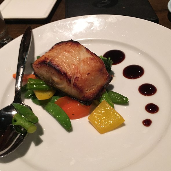 Blackened Cod - Koi Restaurant and Lounge, Las Vegas, NV