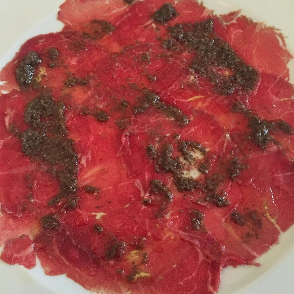 Beef Carpaccio with Truffles