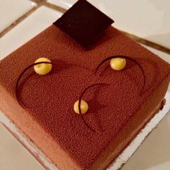 Dark Chocolate, Passion Fruit, Caramel Cake @ Craftsman & Wolves