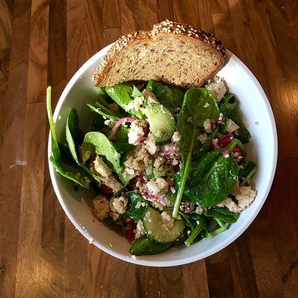 Greek To Me SALAD @ Sprout Salads