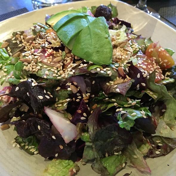 beet and avocado salad.