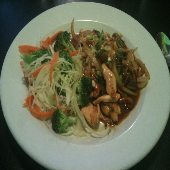Chili Cashew Chicken @ Lime Juice Thai Bistro