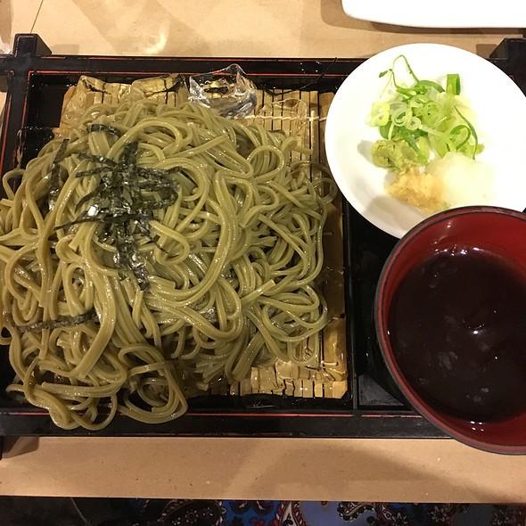 Green Tea Soba Noodles