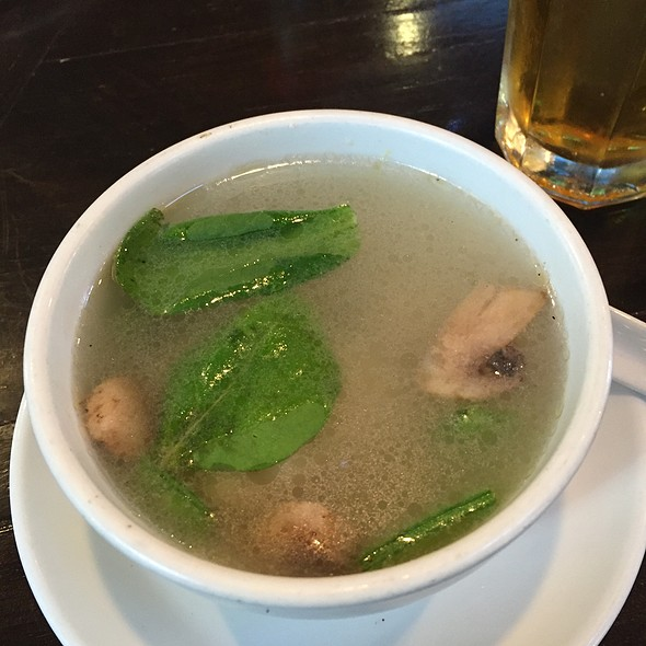 Wanton Soup @ Silk Road Asian Kitchen