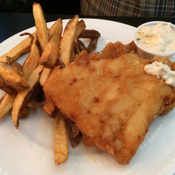 Fish and Chips @ Stoney's Pub
