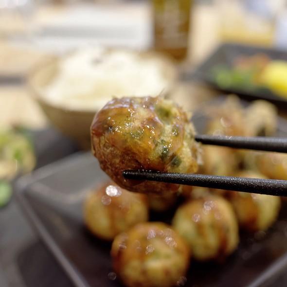 Takoyaki @ Restaurant Matsumotoya