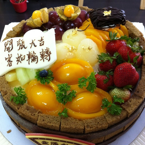 Fruit Cream Cake @ 美心MX Maxim's MX