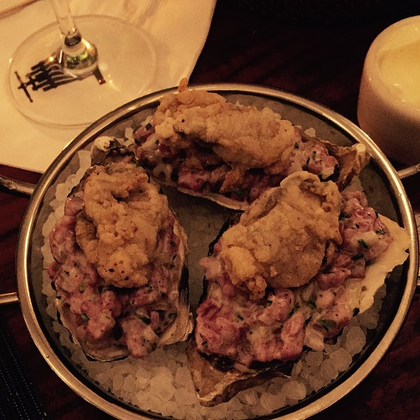 fried oysters @ Press St. Helena