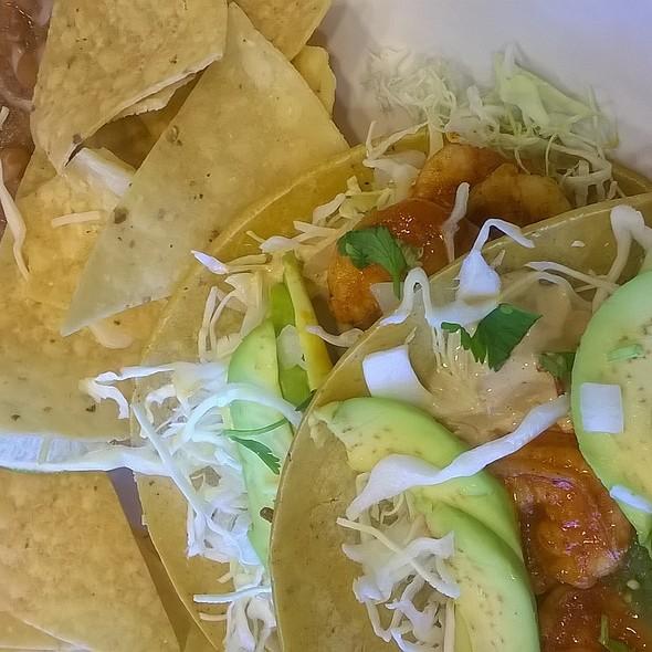 Shrimp Tacos with Avocado (Mexican) @ Rubio's Fresh Mexican Grill