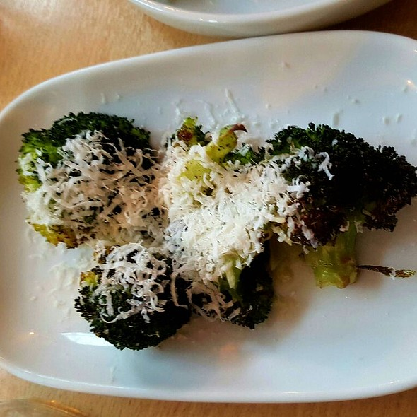 broccoli with parmesan