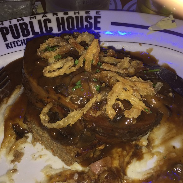 Bacon Wrapped Meatloaf @ Himmarshee Public House