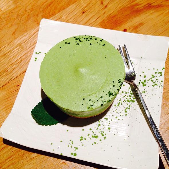 Green Tea Cheese Cake @ Shoryu Ramen