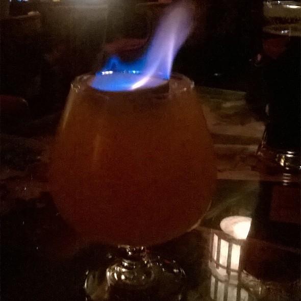 Navy Grog Exotic Cocktail @ The Golden Tiki
