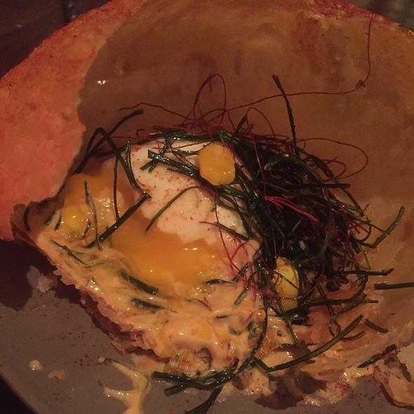 Indian Flatbread Egg Porn @ Cadence
