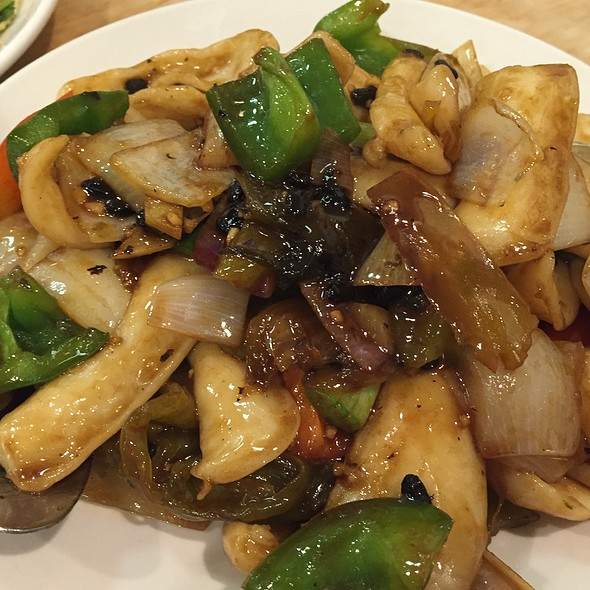 Pickled Mustard Greens W/ Calamari