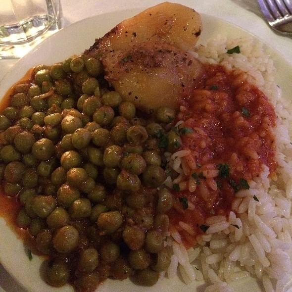 Peas, Potatoes And Rice