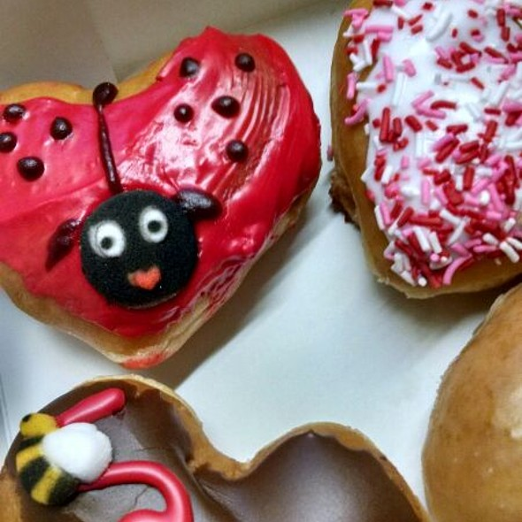 Krispy Kreme Valentine's Day Edition Doughnuts