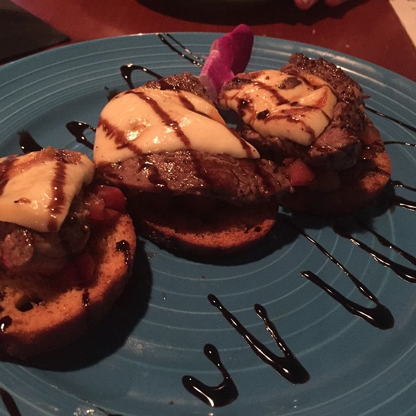 Filet Mignon Bruschetta - The Reef of St. Augustine, St. Augustine, FL