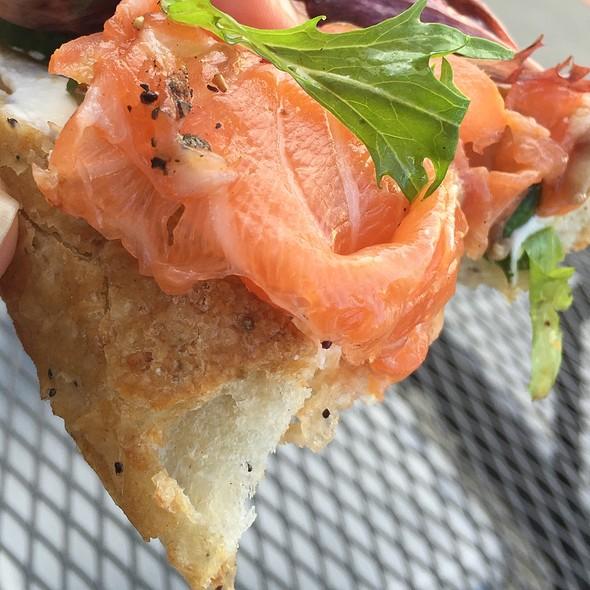 Gravalax Sandwich @ Cafe Ub