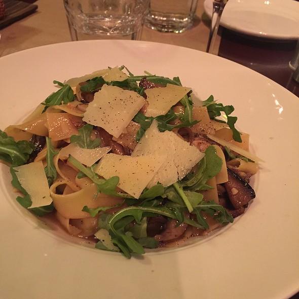 Papardelle With Wild Mushroom And Parmesean @ Restaurant Le Petit Italien
