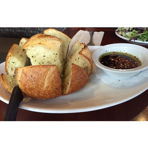 Baked Garlic Sourdough  @ Paesanos