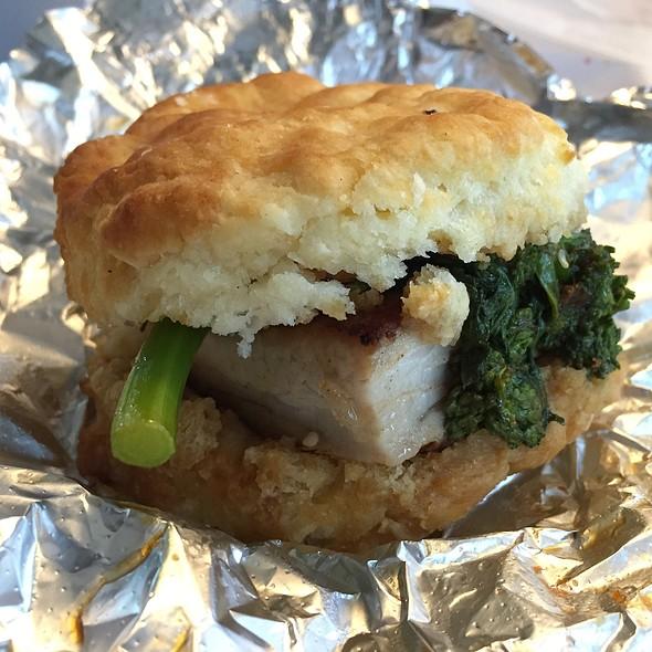 Pork Belly Biscuit