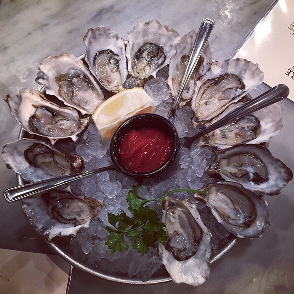 raw oysters @ Sotto Mare