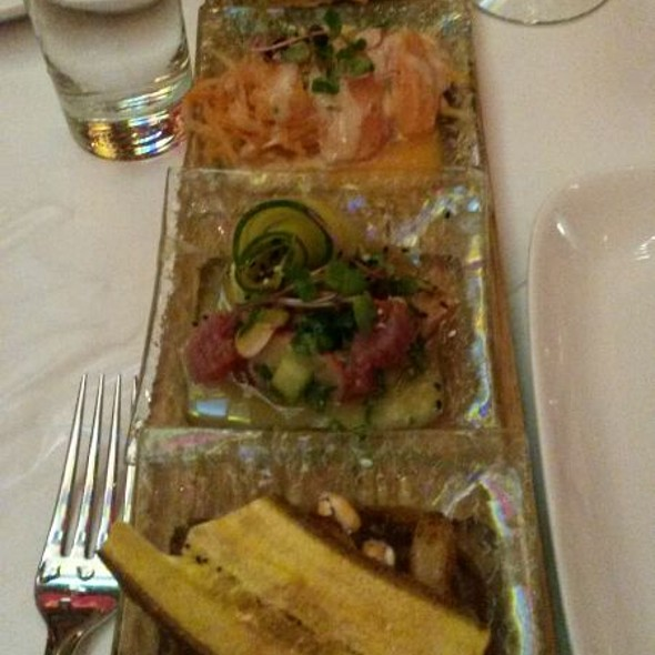 Tasting Flight Of Ceviche