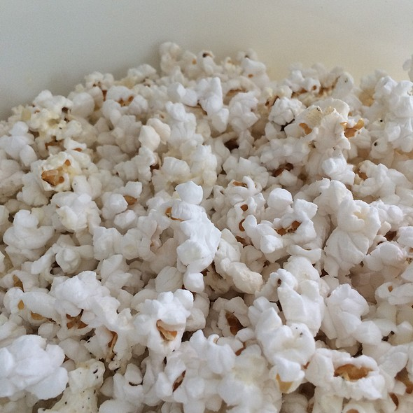 Parmesan And Black Pepper Popcorn