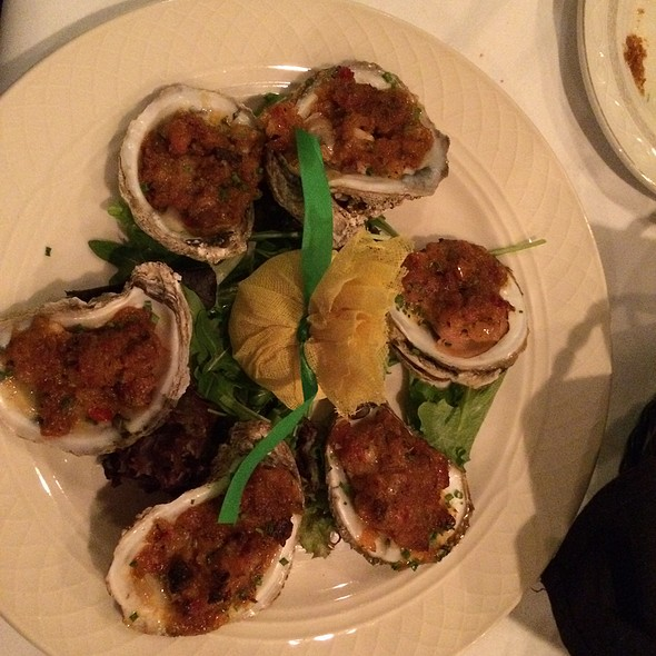 Grilled Oysters @ Ristorante Divino