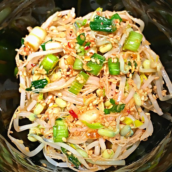 Mung Bean Sprout Side-Dish