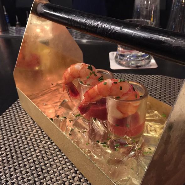 Jumbo shrimp cocktail @ Shell Shock Restaurant