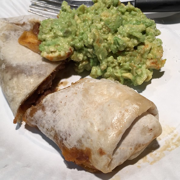 Beef Burrito With Guacamole