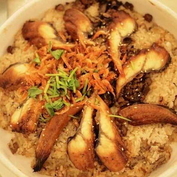 Steamed Sticky Rice With Eel