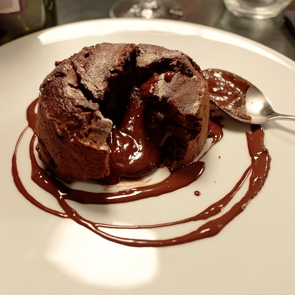 Moelleux Au Chocolat With Caramel Beurre Salé @ A Bout De Soufre