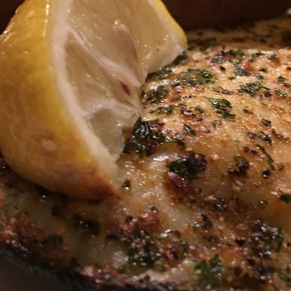 Broiled Flounder at Hyman's Seafood Co