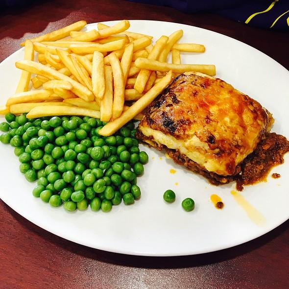Lasangna Chips N Peas