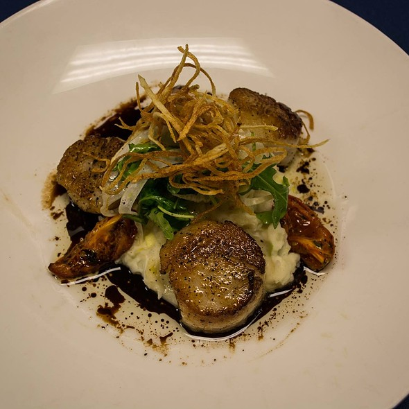 Scallops - Southern Prime Steakhouse, Southern Pines, NC