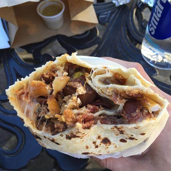 Loco Breakfast Burrito