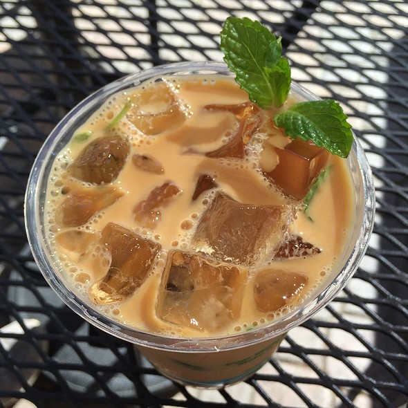 Iced Mint Coffee