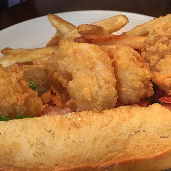 Shrimp Po'boy - Amen Street Fish + Raw Bar, Charleston, SC