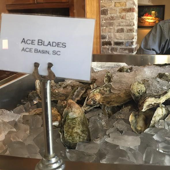 Fresh Oysters - Amen Street Fish + Raw Bar, Charleston, SC