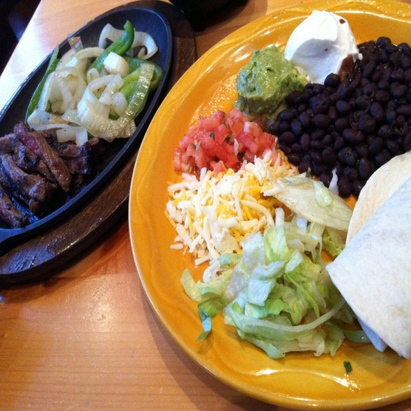 Steak Fajitas @ Mas Mexicali Cantina