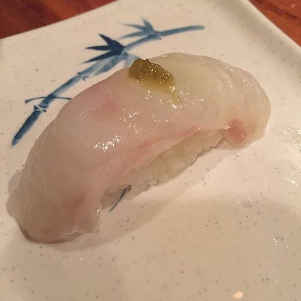Halibut Sashimi With Yuzu