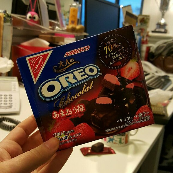 Strawberry Oreo