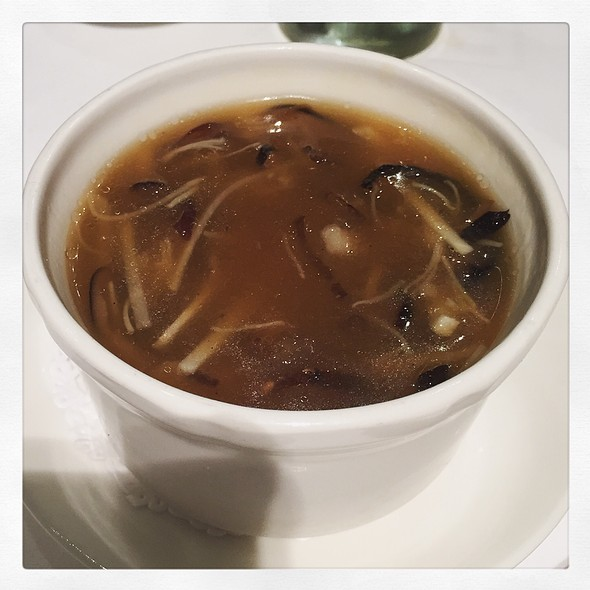 Shreaded Shark Fin & Sea Cucumber Soup
