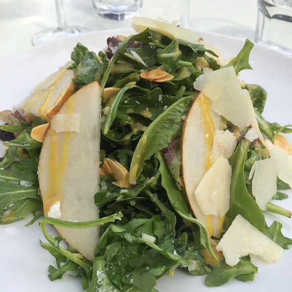 Salad With Pears And Shaved Parmesan