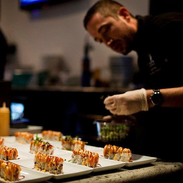 The Venue Roll - The Venue Sushi Bar & Sake Lounge, Palm Desert, CA