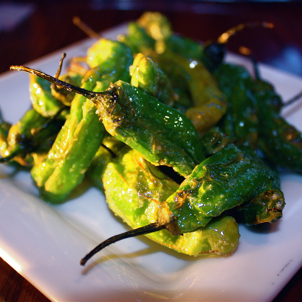 Blistered Chiles - Rio Grill, Carmel, CA